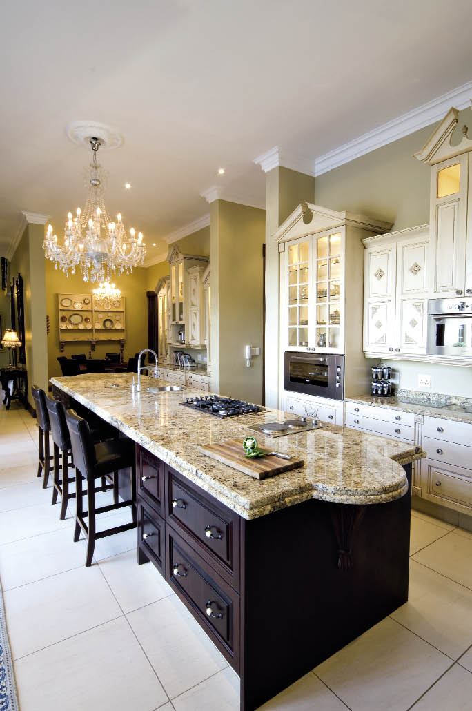 A french chateau sa home owner for French chateau kitchen designs
