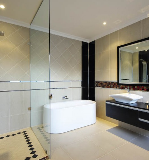 interior luxury bathroom