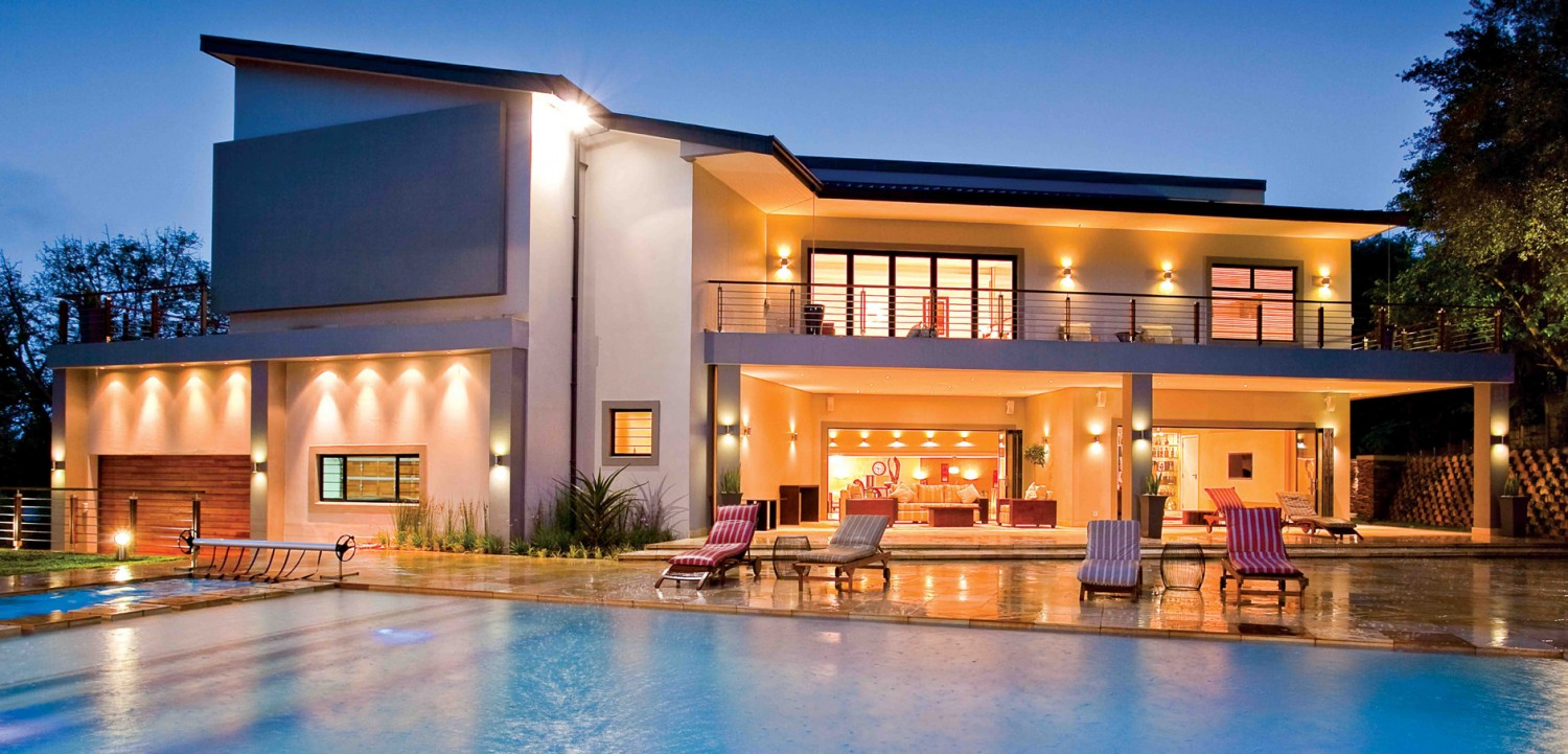 Contemporary south african home sa home owner Modern house company