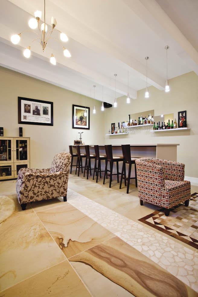 riveting revival renovated kwazulu natal home Porportional Rooms Informal Room