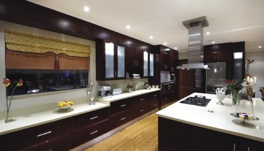 Luxury open-plan home