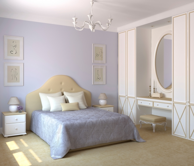 Your sanctuary - the bedroom!