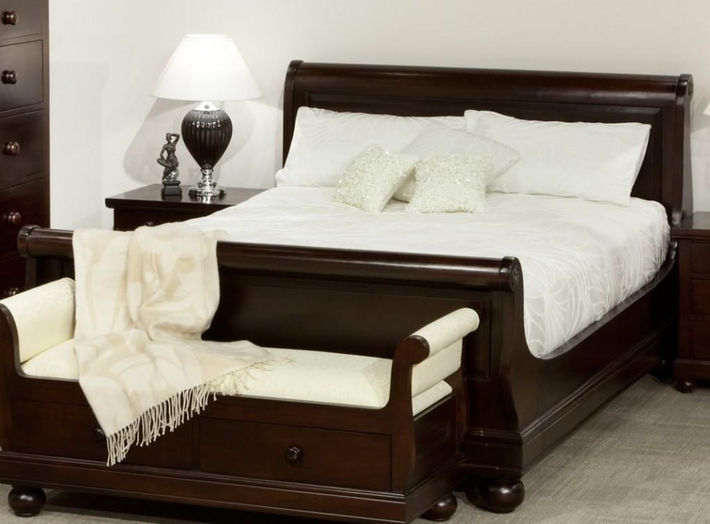 Mahogany Sleigh Bed Sa Home Owner