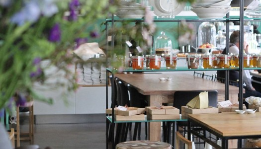 A chic dining experience