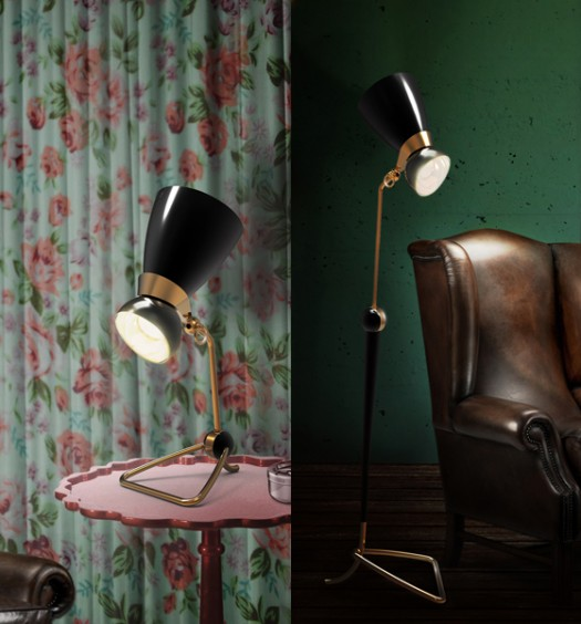 Amy floor and table lamps
