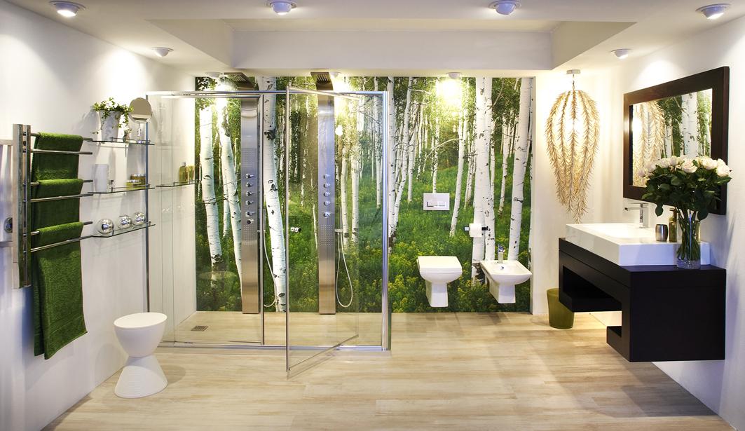 Bathroom Bizarre. Get more bathroom for your buck