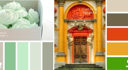 Design Seeds colour palettes