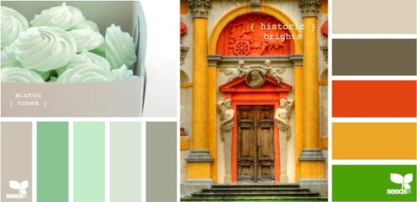 Minted Tones and Historic Brights