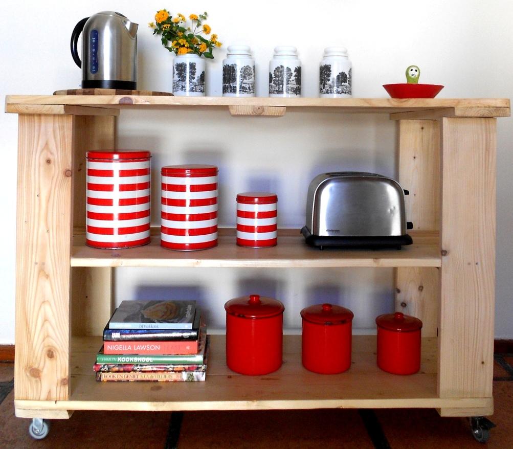 Kitchen bench, size 850mm x 1200mm x 580mm, R750