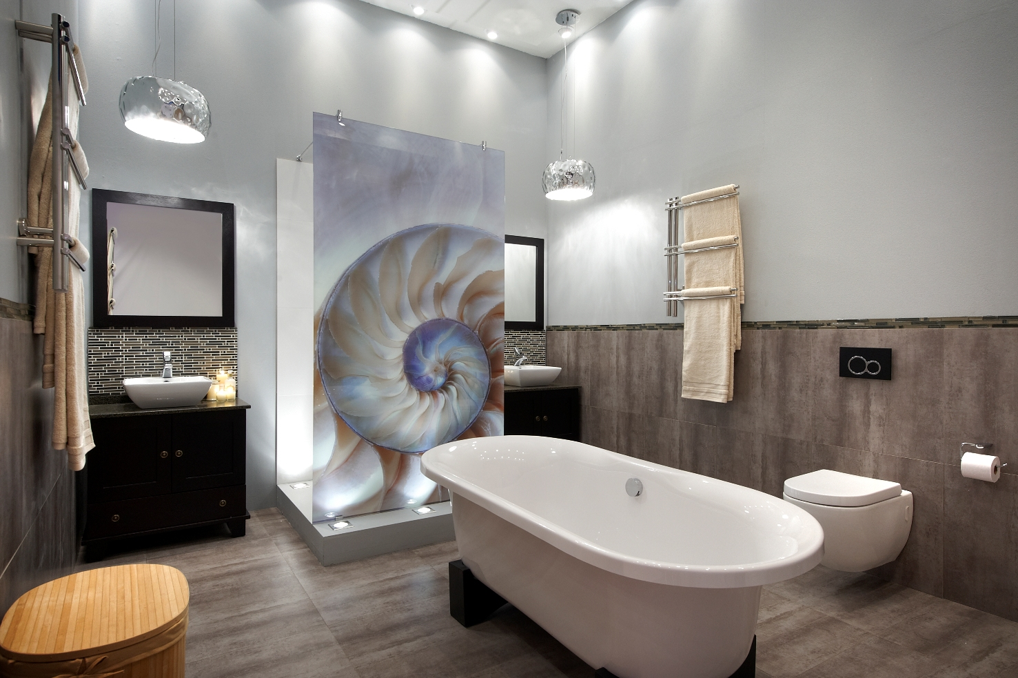 Trendy tiles for Best bathroom designs in south africa