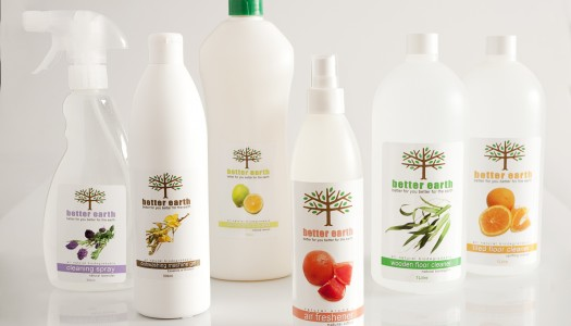 Better Earth Organic household products giveaway