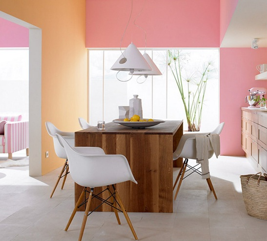 Pastels create a beautiful, fresh feel. Image: http://tinyurl.com/9xju78g
