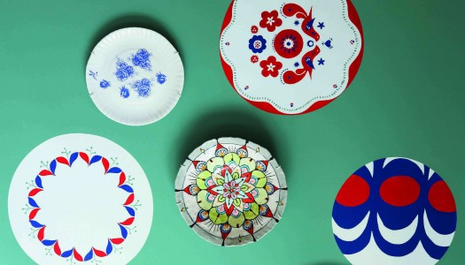 How to create a plate display