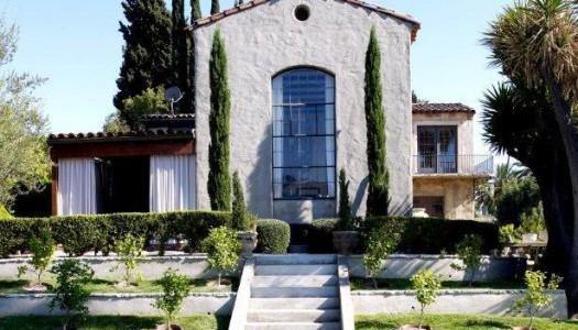 Ellen Pompeo's Italian-inspired villa