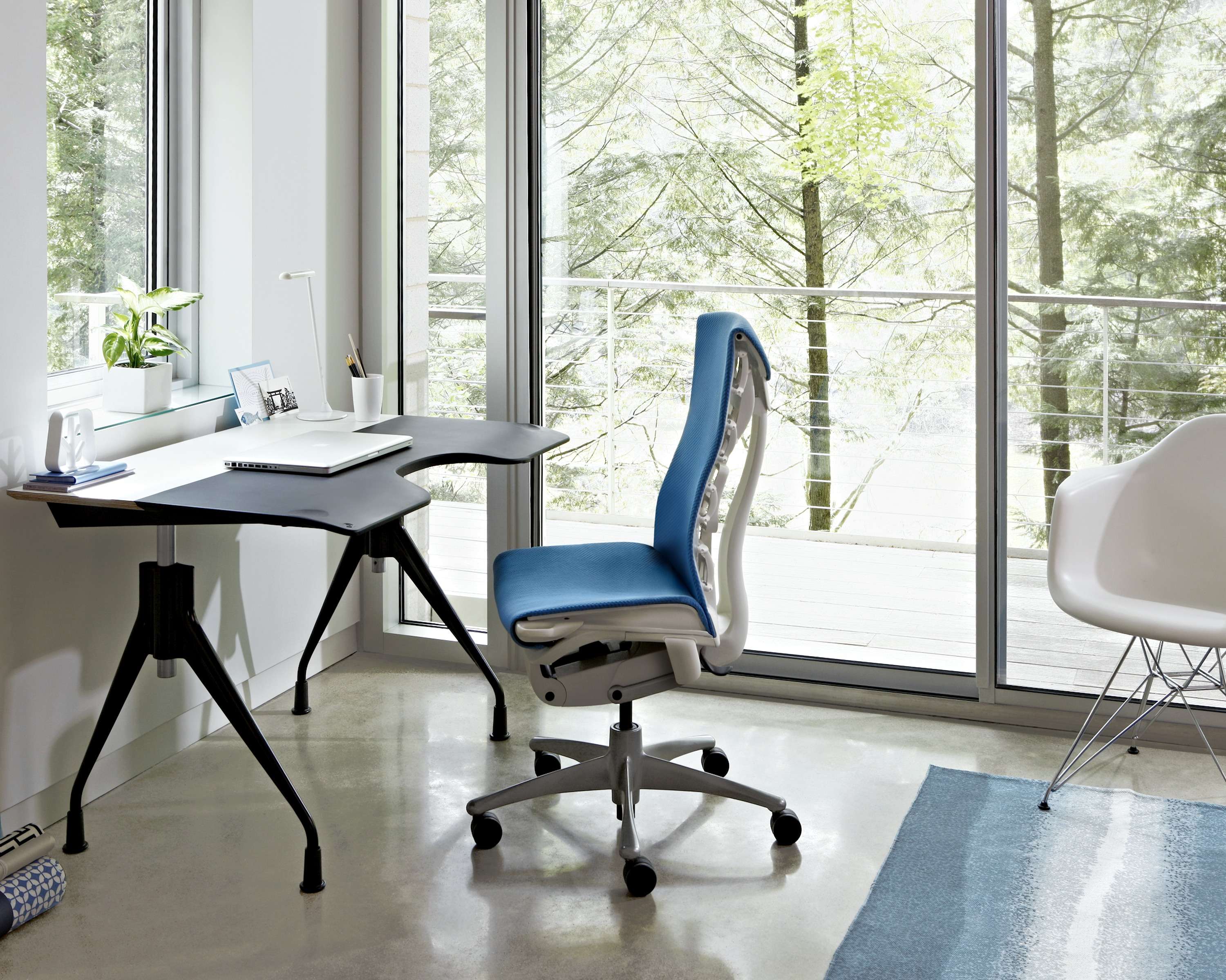 your home office. Your Home Office. Herman Miller Envelop Desk And Embody Chair Office