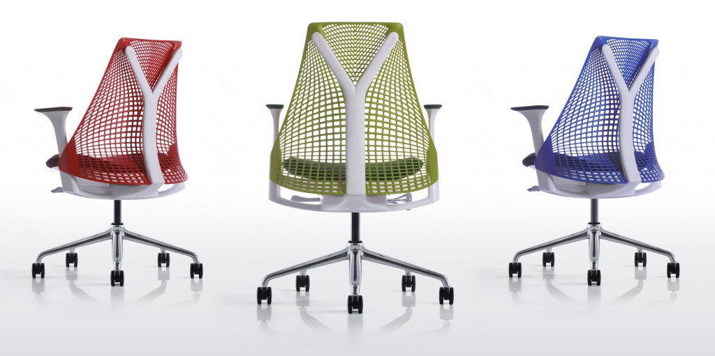 Herman Miller Thrive Work Chairs with Suspension Backs