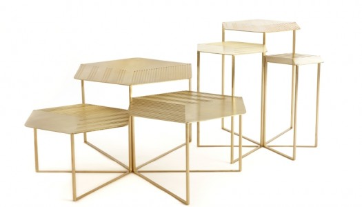 Hex Coffee & Side Tables