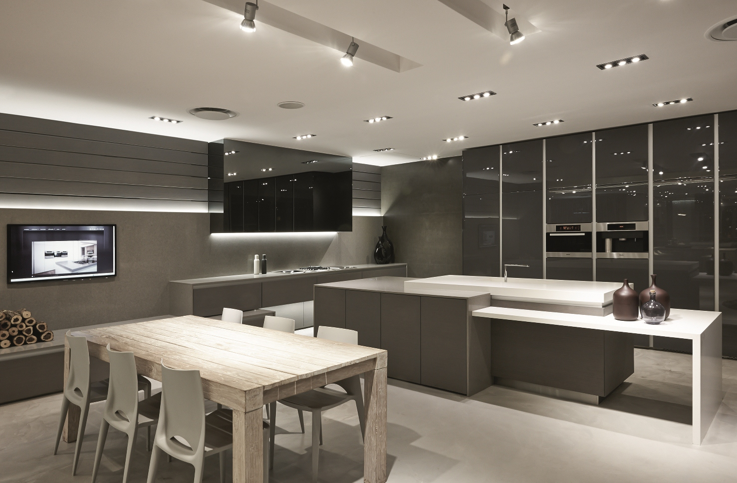 Blu_line Recently Opened Their New Kitchen Showroom In Design Quarter,  Johannesburg, Earlier This Year. The New Showroom Boasts Over 300 Square  Meters Of ...