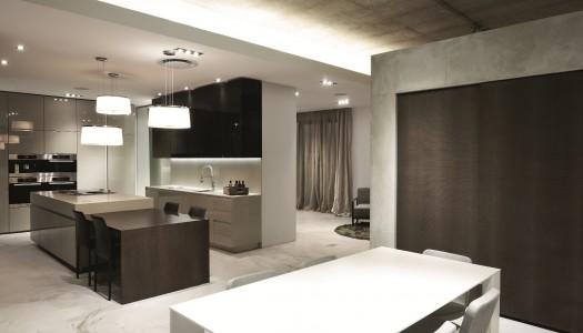 New blu_line showroom at Design Quarter