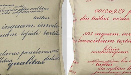 Grey Gardens scatter cushions