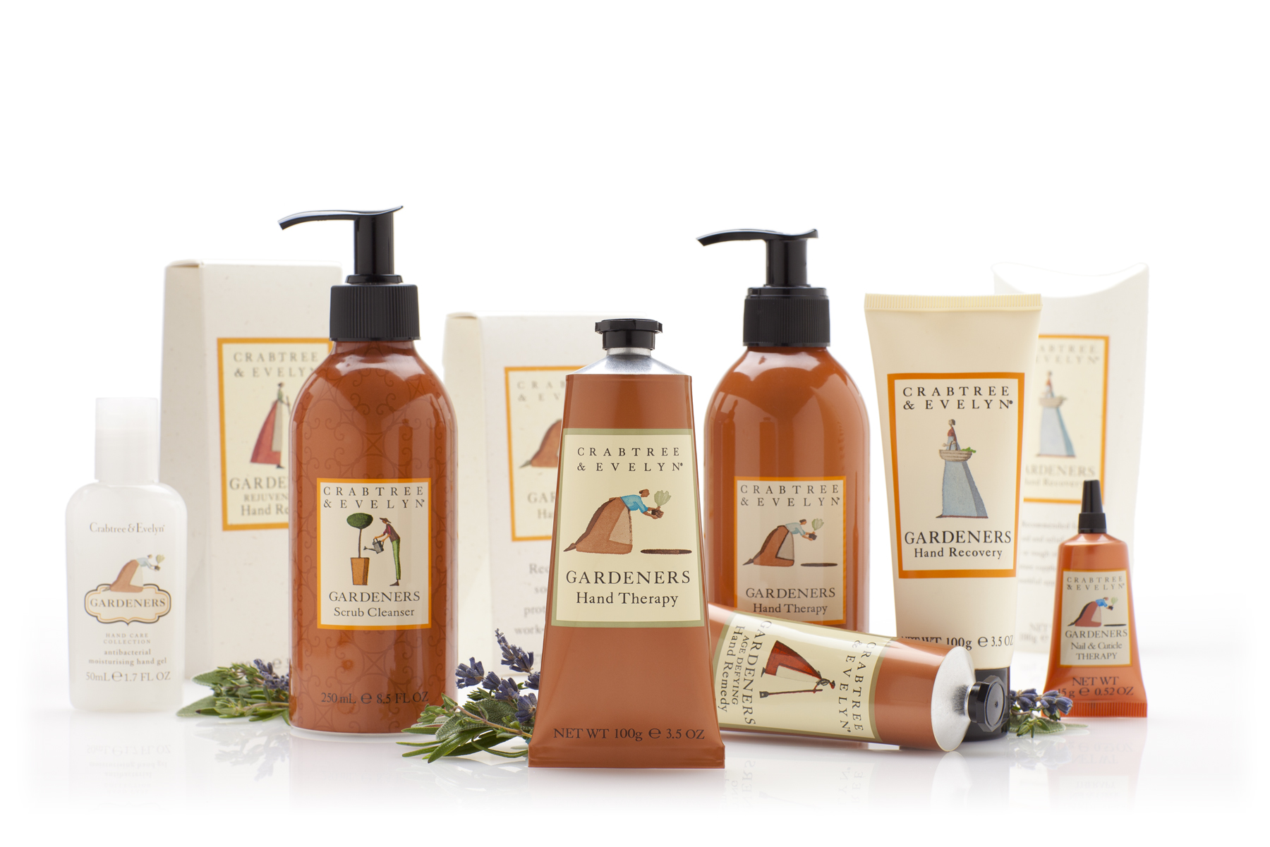 Crabtree And Evelyn Gardeners Hand Therapy Collection