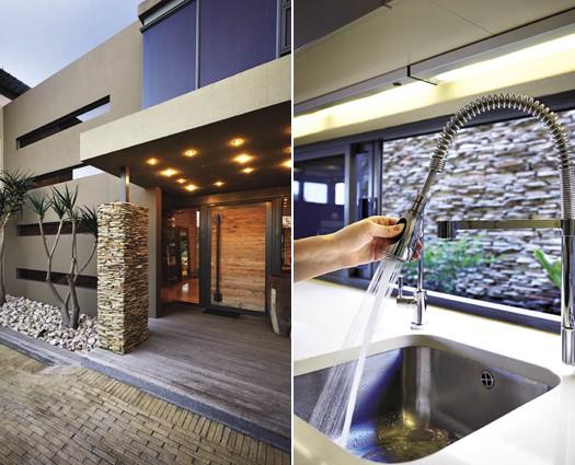Francois Marais Architects 011 615 9105 and Franke Kitchen Systems 0861 372 653