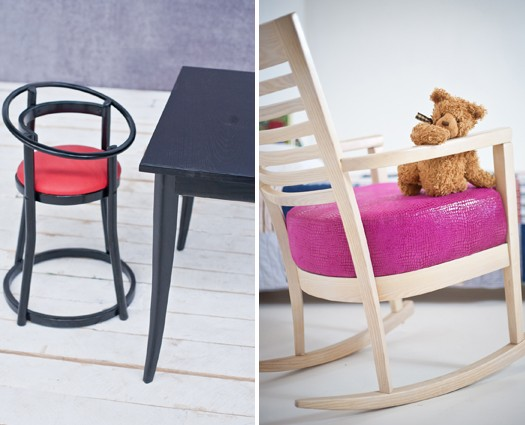 Classic Toddler's Diner and Toscana Rocker