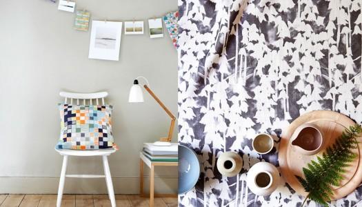 Textile designer Imogen Heath