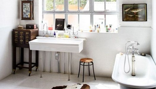 How to add a luxe feel to your bathroom