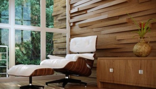 Wooden wall panels stage a comeback