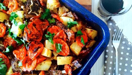 Baked Greek Lamb Casserole