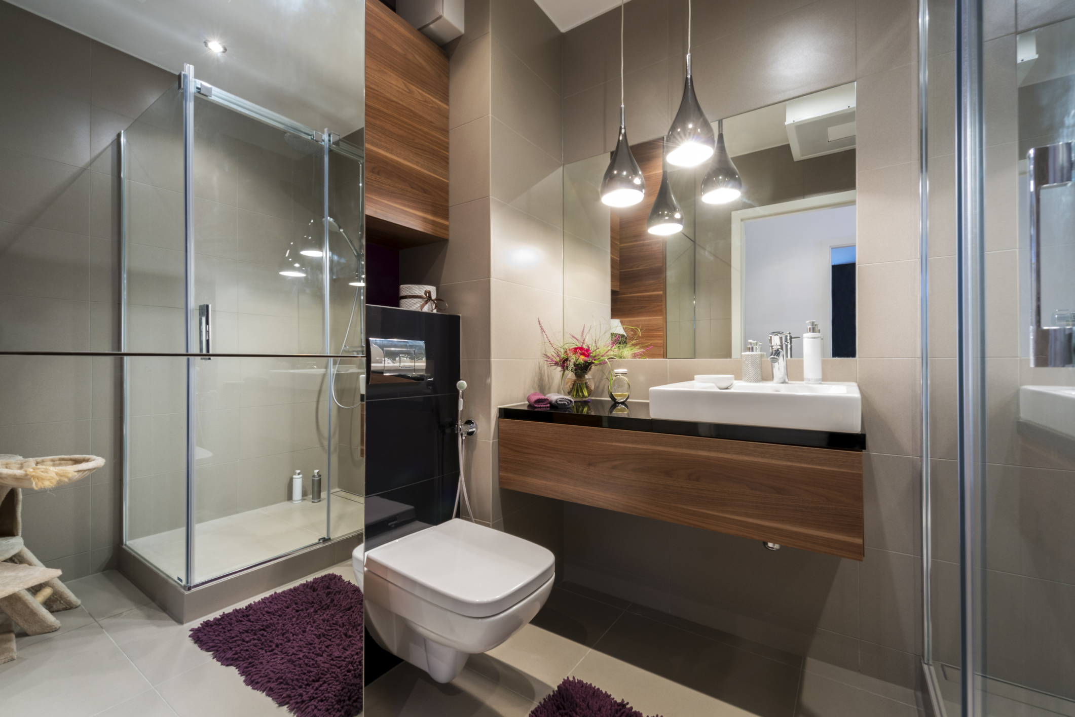 Top bathroom trends for 2015 for Contemporary bathrooms 2015