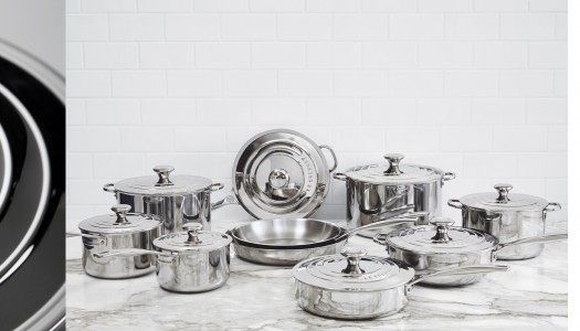 Le Creuset's new Stainless Steel Cookware