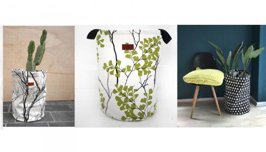 Love Milo fabric storage baskets