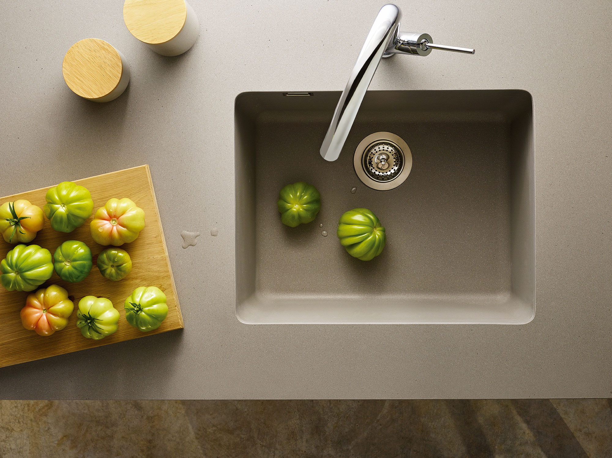 Limited edition caesarstone sinks - Caesarstone sink kitchen ...
