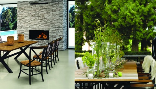 Winter outdoor entertaining