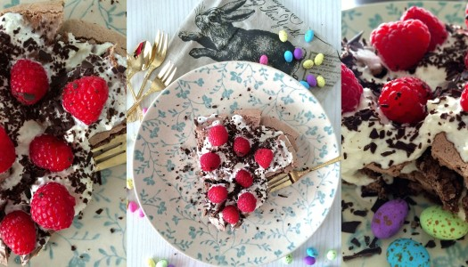 Easter Chocolate Pavlova