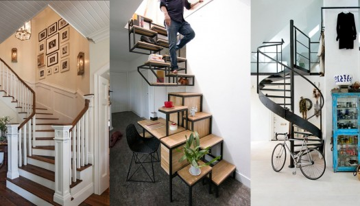 Liven up a staircase wall