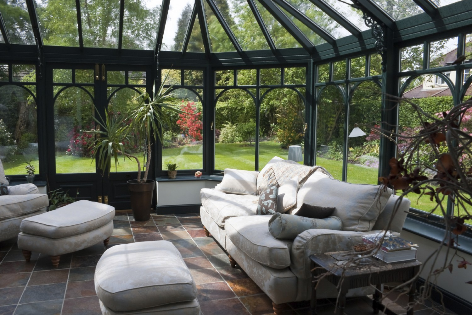 Stylish conservatories for Conservatories and garden rooms
