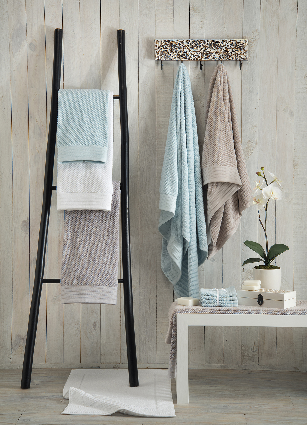 Great Tranquility Bathroom Collection Volpes Launch Extensive New Towel Collection  .