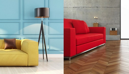 How to add bright colour to your home