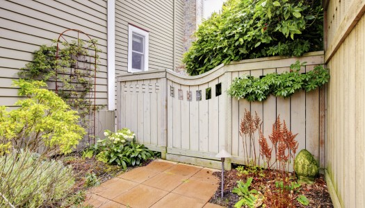 Spruce up your 'side yard'