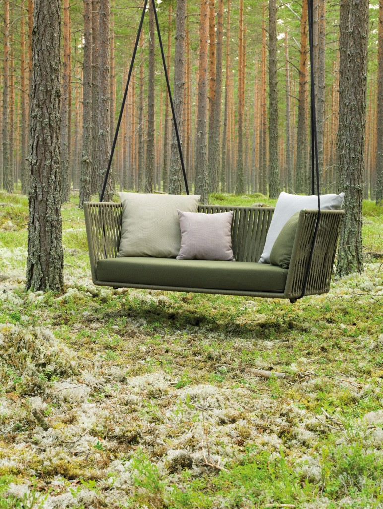 Kettal Bitta Swing Sofa from Marlanteak