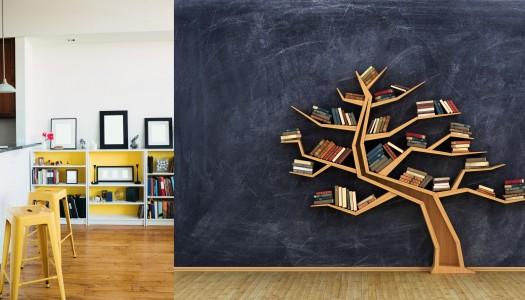 Creative ways to display your books