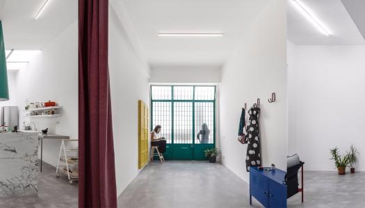 Lisbon garage turned home