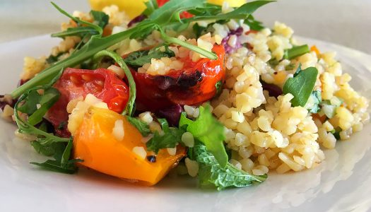 Bulgur wheat salad