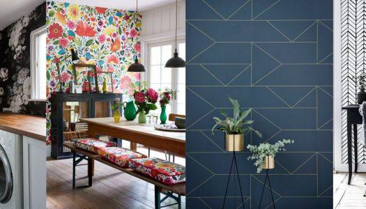 Choosing wallpaper