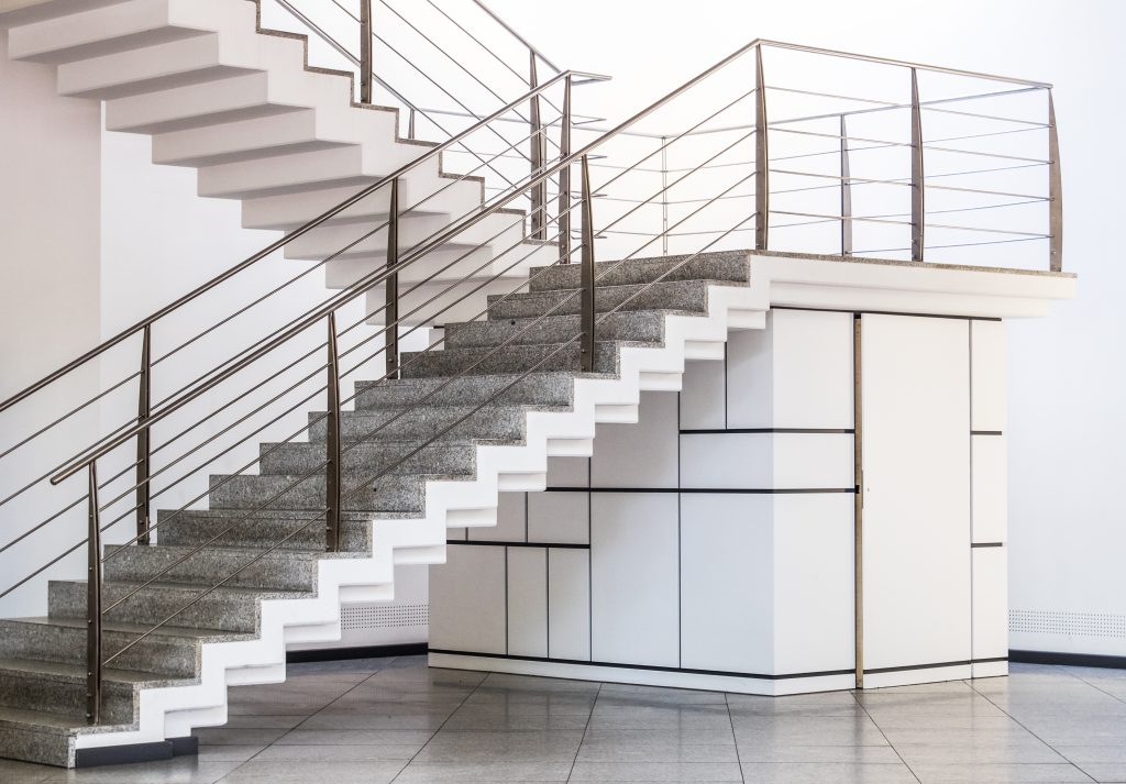 Transform your living space with a staircase