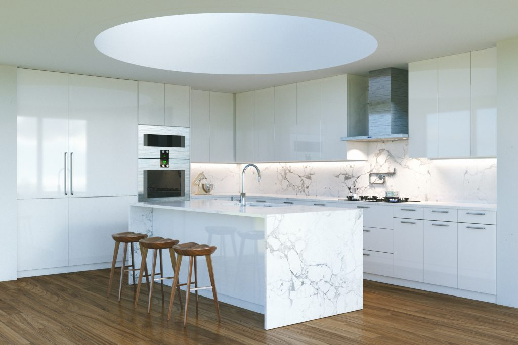 The luxe kitchen
