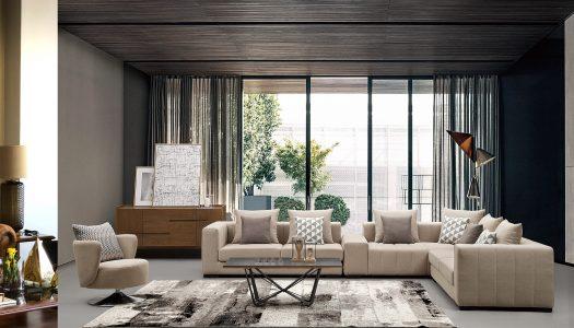 Refined interior design